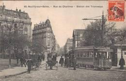92 60 NEUILLY SUR SEINE Rue De Chartres Station De Tramways - Neuilly Sur Seine