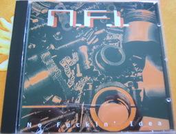 CD  PUNK - NFI / NO FUCKIN' IDEA - Punk