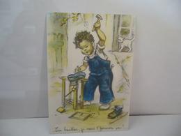 EN BAILLES JE VAIS T'FERMER CA CPM SÉRIE NO 5338  MD PARIS - Fancy Cards