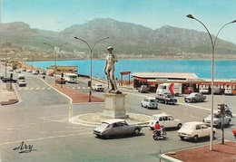 Transports - Automobile - Plusieurs Voitures Anciennes - La Plage Vers La Pointe Rouge Marseille - Cpm - écrite - - Turismo
