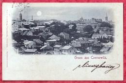 Gruss Aus CZERNOWITZ - BUKOWINA - LUZAN - KuK Militar Post TREBINJE Herzegovina 1898. Ukraine Romania BF1/04 Leon Konig - Ukraine