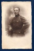 Carte-photo.Armée Belge. Soldat Du 20è De Ligne. 3è Bataillon. 12è Compagnie. Caserne Marie-Henriette, Namur. 1923 - Régiments
