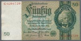 Pick 182a Ro 175a DEU-210a  50 Reichsmark 1933 UNC - 50 Reichsmark