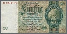 Pick 182a Ro 175a DEU-210a  50 Reichsmark 1933 UNC - 1933-1945: Drittes Reich
