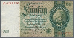 Pick 182a Ro 175a DEU-210a  50 Reichsmark 1933 UNC - [ 4] 1933-1945: Derde Rijk