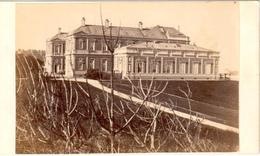 Biarritz - Palais De L'Impératrice Eugénie - Photo Sur Carton Format Carte De Visite - Biarritz