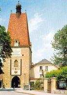 1 AK Österreich / Oberösterreich * Das Linzertor - Ein Mittelalterliches Stadttor In Freistadt - Erbaut Im 13. Jh. * - Freistadt