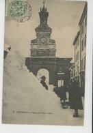 PONTARLIER En Temps De Neige (1907) - Pontarlier