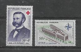 FRANCE    Yvert   N° 1188 Et 1228 - Neufs
