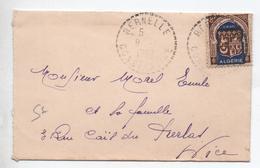1952 - PETITE ENVELOPPE De BERNELLE (CONSTANTINE) - SEUL SUR LETTRE - Algeria (1924-1962)