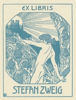 Stefan Zweig Ex Libris - Ephraim Moses Lilien - Ex-libris