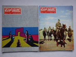 OHM 2 Revues Képi Blanc La Vie De La Légion étrangère Revue N° 177 N° 178 1961 / 1962 Légion - Français