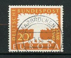 SARRE - EUROPA - N° Yvert 384 Obli. - 1947-56 Occupation Alliée