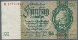 Pick 182a Ro 175c DEU-210c  50 Reichsmark 1941/42 UNC - [ 4] 1933-1945: Derde Rijk