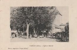 CPA - 03 - TARGET - Eglise Et Marché -  024 - France