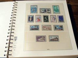 France 1970/1979 Collection Complète, Poste + Annexes, Neufs ** Sans Charnière COTE 543 € - France
