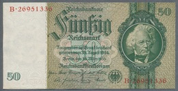 Pick 182a Ro 175c DEU-210c  50 Reichsmark 1941/42 UNC - 50 Reichsmark