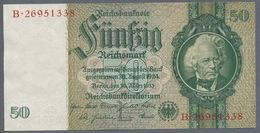 Pick 182a Ro 175c DEU-210c  50 Reichsmark 1941/42 UNC - [ 4] 1933-1945 : Troisième Reich