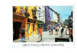 Cpm - IRELANDE - Greetings From GALWAY - Barnacles Hustel COCA-COLA - Animation - Galway