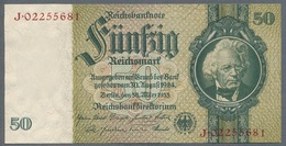 Pick 182b Ro 175d DEU-210d  50 Reichsmark 1945 UNC - 1933-1945: Drittes Reich