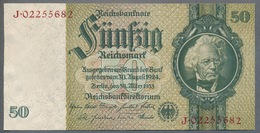 Pick 182b Ro 175d DEU-210d  50 Reichsmark 1945 UNC - [ 4] 1933-1945: Derde Rijk
