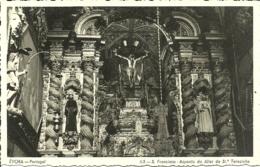 Portugal - Evora - S. Francisco - Aspecto Do Altar De Sta Terezinha - Evora