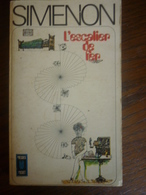 SIMENON: L'escalier De Fer / PRESSES POCKET 1973 - Libros, Revistas, Cómics