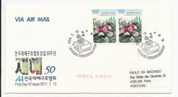 Cover FDC - South Korea - 2011 - Corea Del Sur