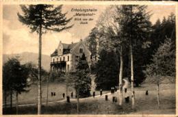 Baden-Baden Kloster-Institut Zum Heiligen Grab Erholungsheim Marienhof Blick Von Der Ibach Ugl - Baden-Baden