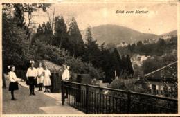 Baden-Baden Kloster-Institut Zum Heiligen Grab Blick Zum Merkur Ugl - Baden-Baden