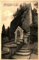 Baden-Baden Kloster-Institut Zum Heiligen Grab Garten-Kapelle Mit Blick Zum Dabobert-Türmchen Ngl - Baden-Baden