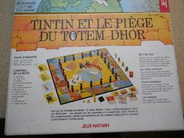 Jeux De Société Tintin Et Le Piège Du Totem Dhor Complet............................C0410320 Codex1 - Jeux De Société