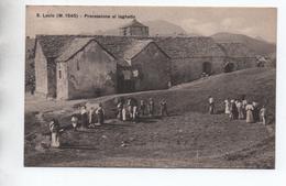 SAN LUCIO - PROCESSIONE AL LAGHETTO - Italie