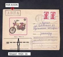 USSR RUSSIA . Moped - RIGA -16 . - Motos