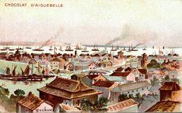 CARTE PUB CHOCOLAT D'AIGUEBELLE YOKOHAMA - Werbepostkarten