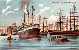 CARTE PUB CHOCOLAT D'AIGUEBELLE TRIESTE - Werbepostkarten
