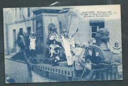 N°10  Nantes - Mi Carême 1923  - Le Char De L'école Des Beaux Arts Au Temps De Tout ANK Amon    Maca 1019 - Nantes