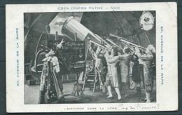 Eden Cinema Pathé - Nice - Excursion Dans La Lune       Maca 1023 - Affiches Sur Carte