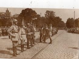 """COBLENCE LA REVUE DU 14 JUILLET 1929 """"REMISE DES DECORATIONS"""" CARTE PHOTO - Koblenz"""