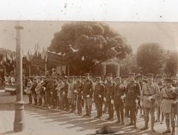 """COBLENCE LA REVUE DU 14 JUILLET 1929 """"LES OFFICIERS SANS TROUPE """" CARTE PHOTO - Koblenz"""