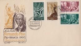Enveloppe  FDC  1er  Jour    FERNANDO   POO    Pour  L' Enfance   1960 - Fernando Po