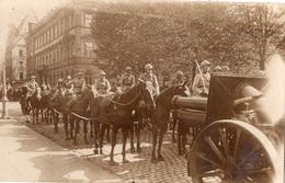 """COBLENCE LA REVUE DU 14 JUILLET 1929 """"LES 155 DU 39 R A D """" CARTE PHOTO - Koblenz"""