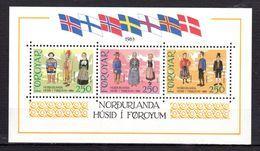 """FEROE 1983 N° YT BF N° 1 Neuf ** MNH Cote 15.75 € : """" INAUGURATION DE LA MAISON NORDIQUE DE TORSHAVN """". Parfait état. - Färöer Inseln"""