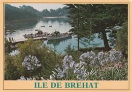 Ile De Bréhat L'Ile Des Fleurs Et Des Rochers Roses Le Débarcadère Du Port Clos - Ile De Bréhat