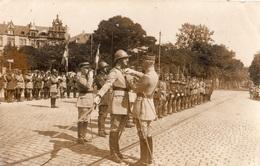 """COBLENCE LA REVUE DU 14 JUILLET 1929 """"LE GENERAL GOUBAUD DECORE LE COLONEL R..... DU 39 R A D DE LA LEGION """" CARTE PHOTO - Koblenz"""
