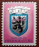 France Rare Vignette Expérimentale Lion Héraldique LH5 N** Luxe Gomme D'origine, Cote 8 E, Deux Photos - Phantomausgaben