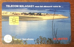 MADAGASCAR VUE SUR SARODRANO TELECOM MALAGASY PHONECARD TELECARTE SOLAIC PRÉPAYÉE - Madagaskar