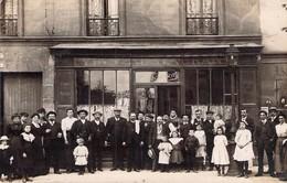"Carte-photo Café Restaurant Besdard ? Verso "" Chez Louis "" Paris XIe ? - Francia"
