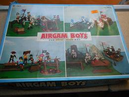 AIRGAM BOYS SUPER STARS TYPE PLAYMOBIL..SERIE WATERLOO...........................C0410320 - Militares