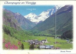 ( CHAMPAGNY EN VANOISE )( 73 SAVOIE ) LE VILLAGE AU COEUR DE L ETE - France
